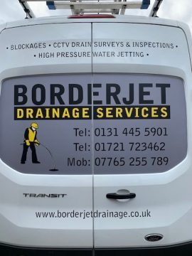 Drainage Services Edinburgh from Borderjet